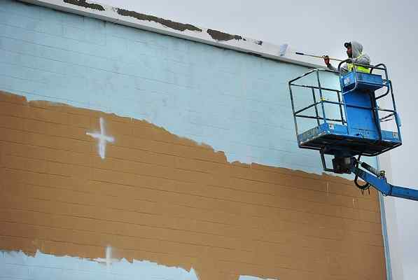 Work on huge Vallejo-celebrating mural begins downtown